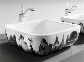 Stunning in a bathroom or even used in a kitchen